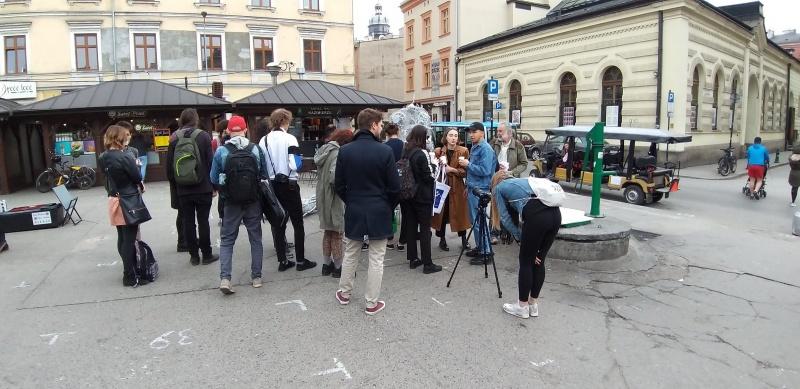 Targozin exhibition as part of Krakers Cracow Art Week (1)