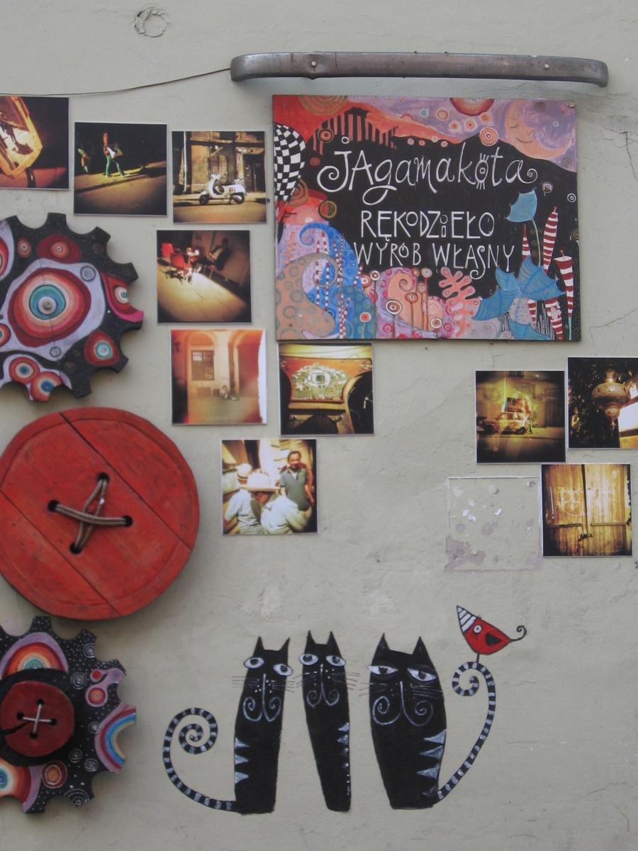 An artistic souvenir shop