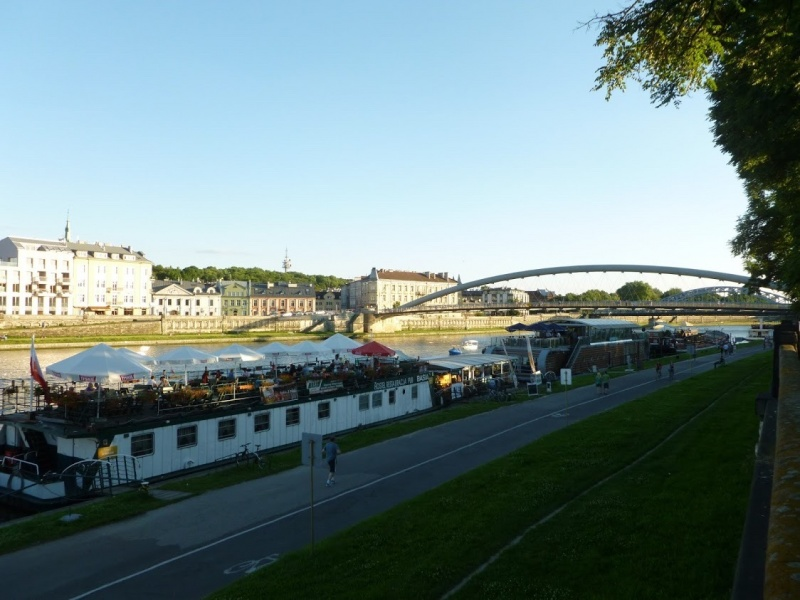 Barges by Kurlandzki Boulevard (1)