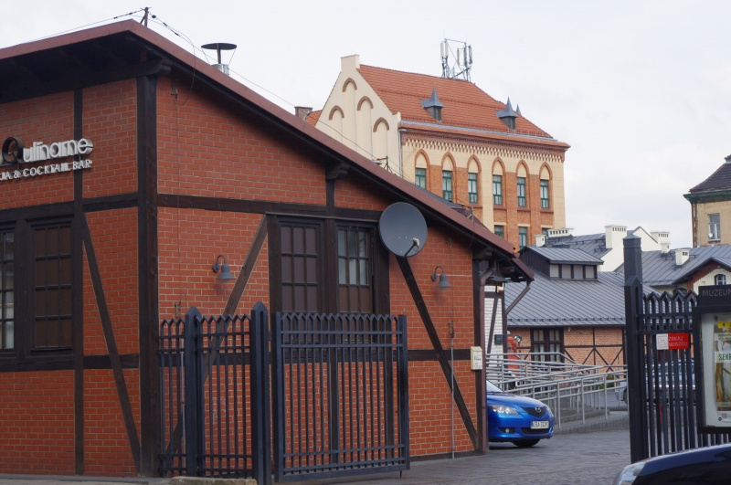Entrance gate to the Museum of Municipal Engineering from the side of Gazowa street