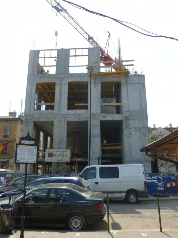 Tenement construction at 1 Nowy square (1)