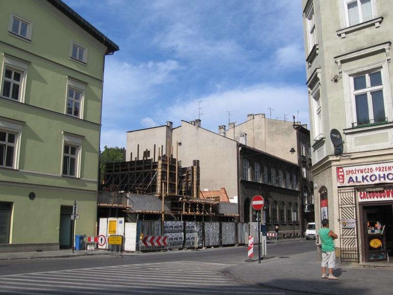 Construction of a new building on Bocheńska street