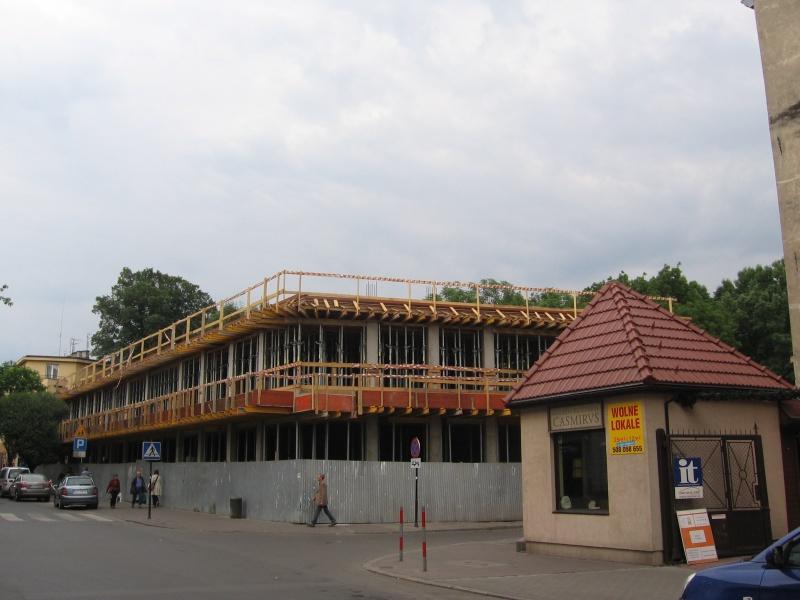 Budowa nowych obiektów przy ul. Miodowej 33-35
