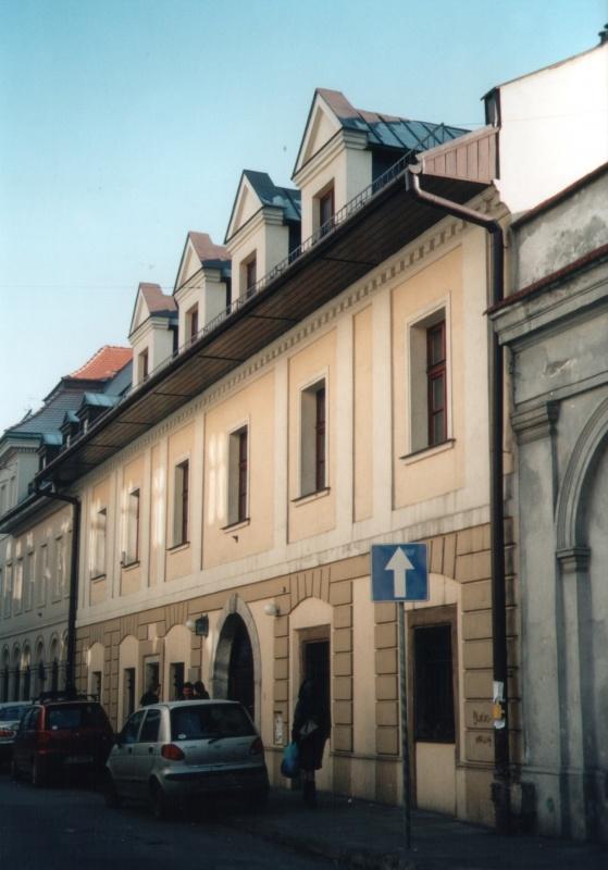 The building at 19 Józefa street in 2004