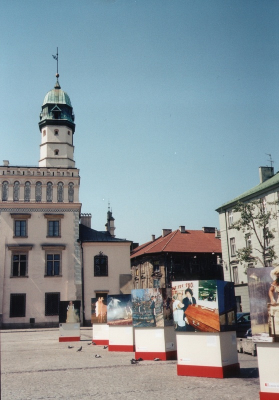 Former building of the Kazimierz city Hall on Wolnica Square