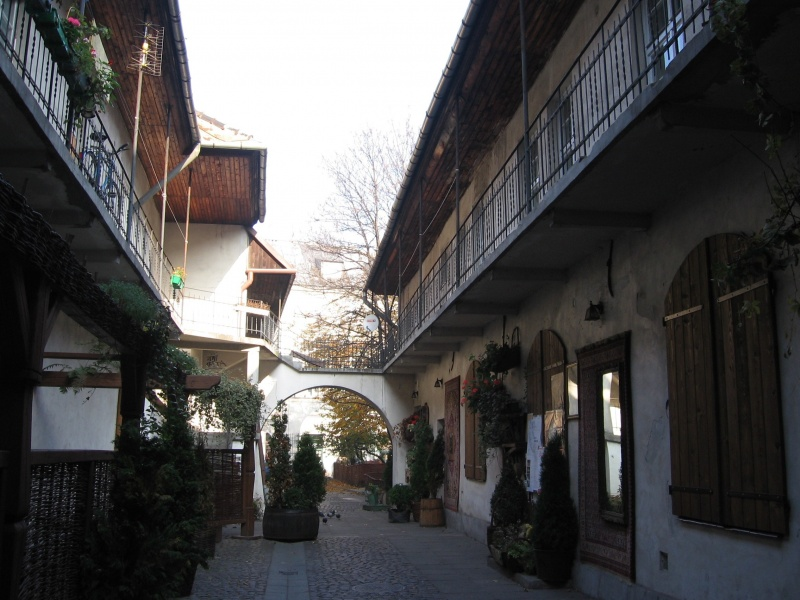 Aestheticization of the courtyard at 12 Józefa street, the so-called Schindler's courtyard