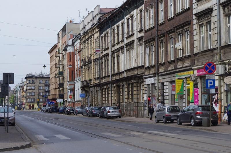 Tenement facades between Berka Joselewicza and Dietla streets