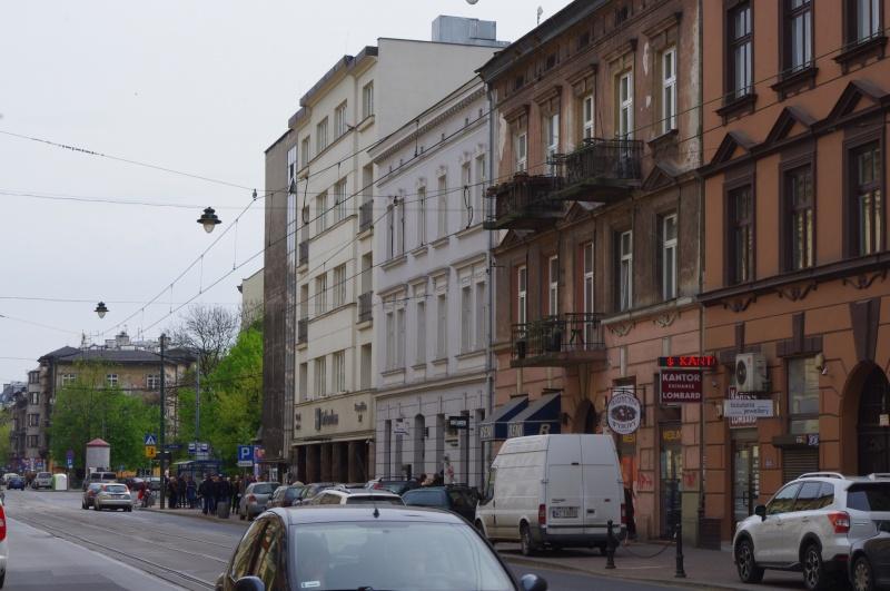 Tenement facades between Berka Joselewicza and Miodowa streets