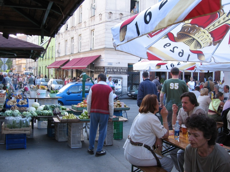 Soup Festival as an event co-existing with the traditional market function on Nowy Square
