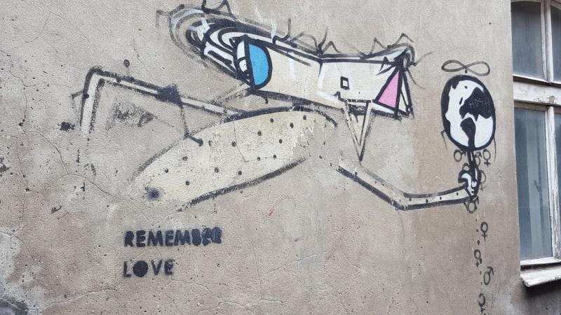 Graffiti, autorstwo: Radim Koros