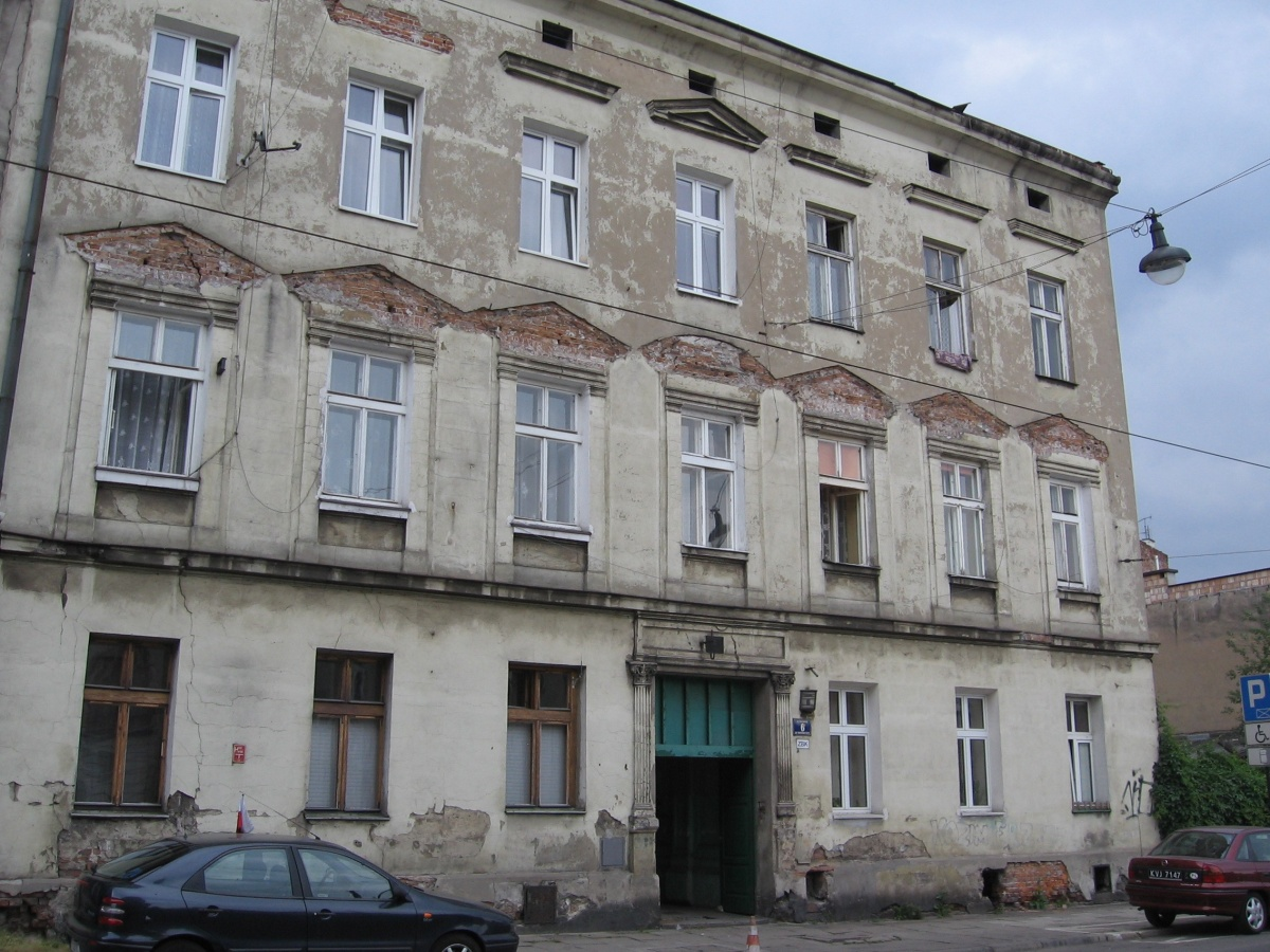 A tenement house at no. 6 Dajwór street, a general view