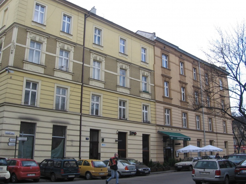 Tenement houses near the corner of Bożego Ciała and Dietla street