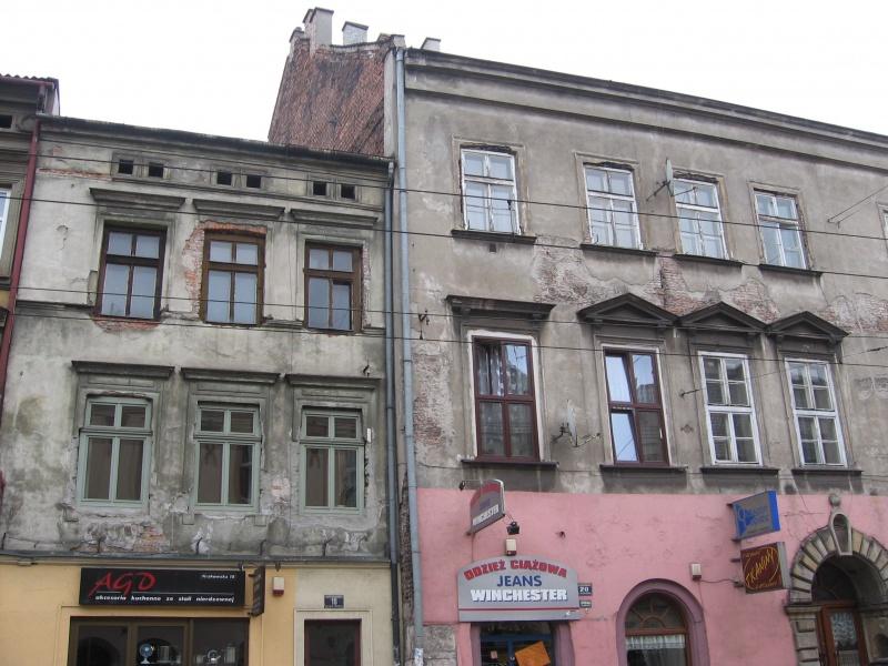 Kamienice przy ul. Krakowskiej 18 i 20