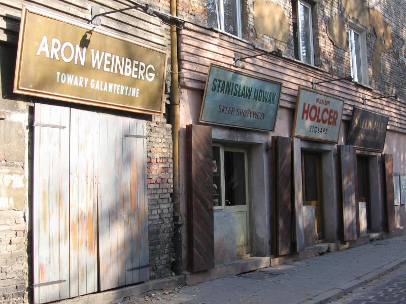 Kawiarnia Dawno temu na Kazimierzu - komercjalizacja odwołań do kultury żydowskiej