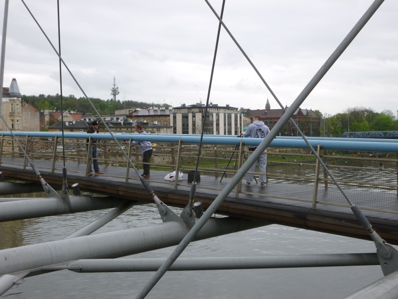 Recording a song on the Bernatek Footbridge (2)