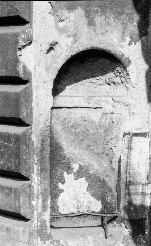 portal niche with arch