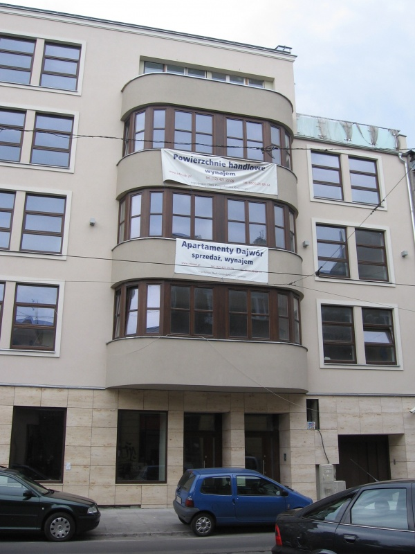 A new building in Starowiślna street