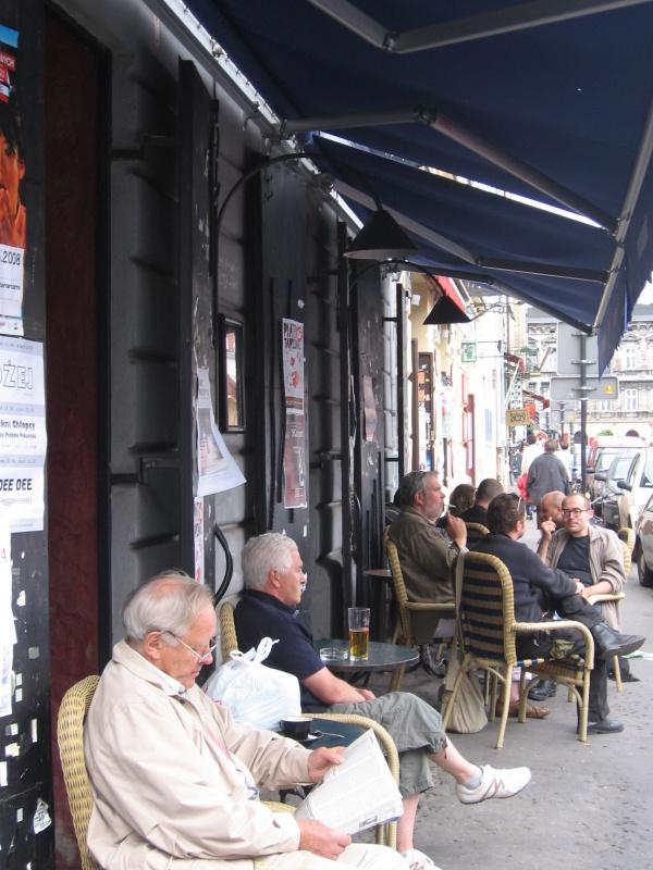 Cafe garden of Les Couleurs cafe