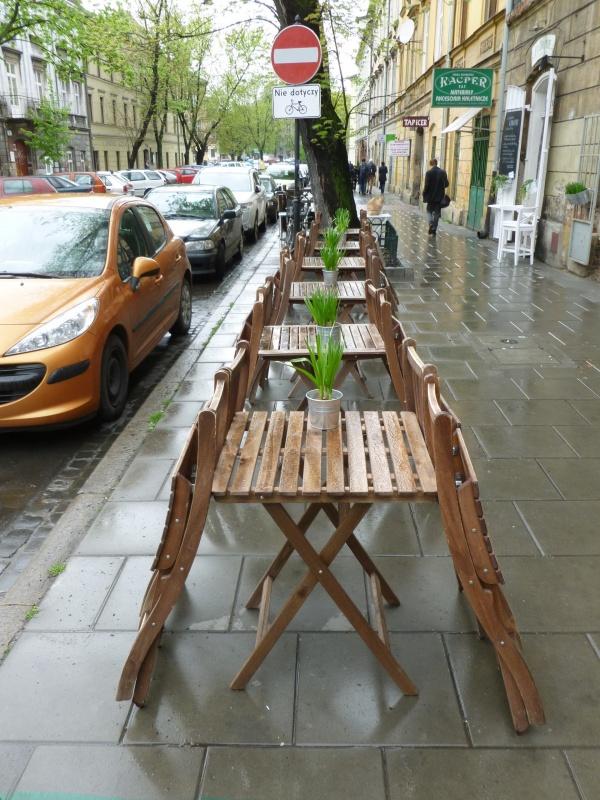 Cafe garden of Mostowa ArtCafe
