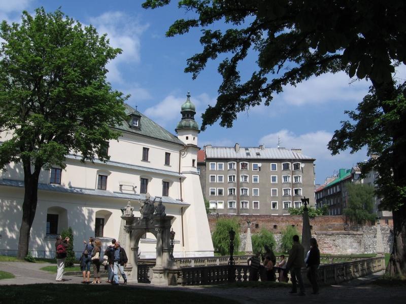 Gardens of the Pauline monastery, a view towards St. Stanislas' pond