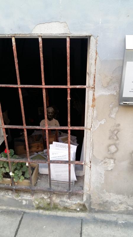 Poetycki Warsztat Mordechaja Gebertiga - widok z ulicy