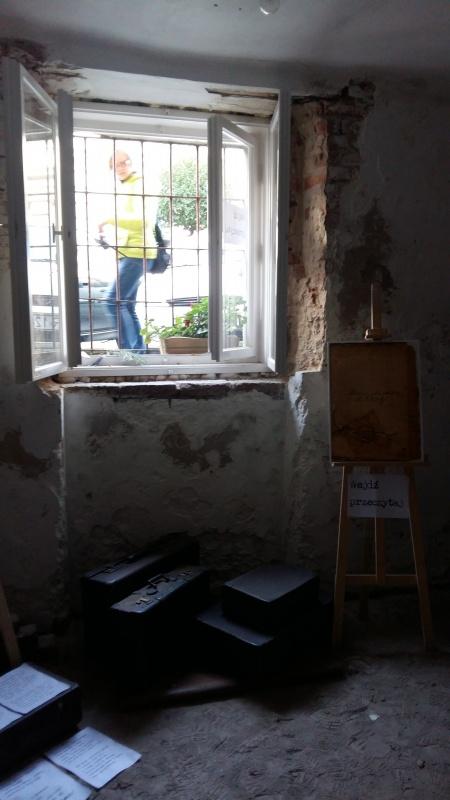 Poetycki Warsztat Mordechaja Gebertiga - wnętrze