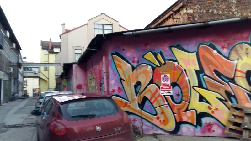 Street art przy ul. Joselewicza