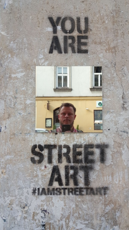Street art - created by Karina Swachta (Cracow Girl)
