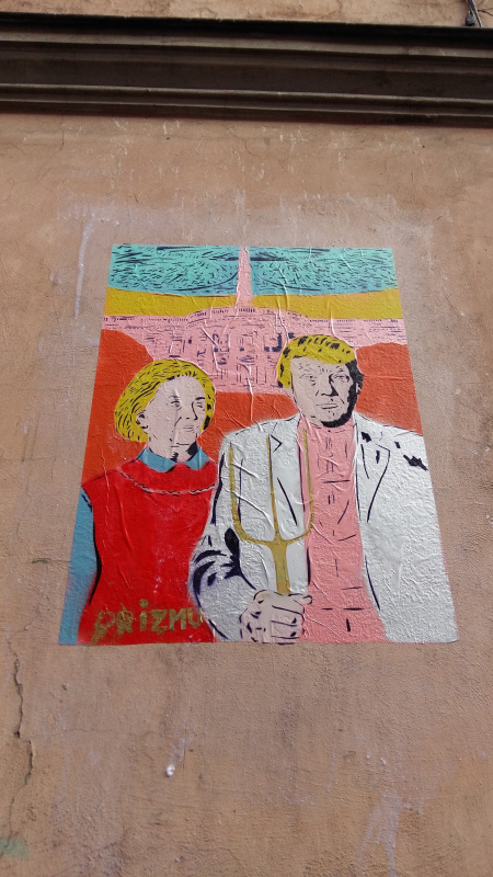 Street art z serii