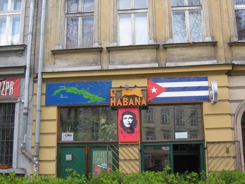 Sign of the La Habana pub
