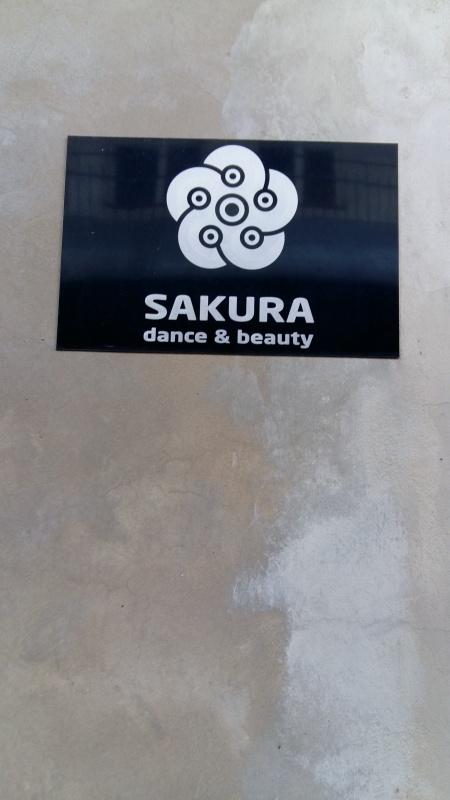Szyld Sakura Dance & Beauty