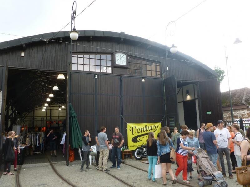 Design fairs at the former tram depot
