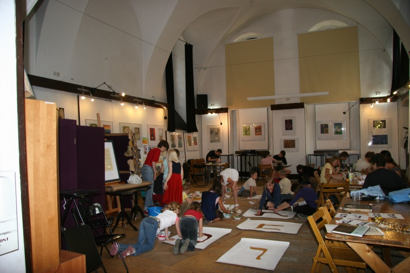 Artistic workshops for children within the framework of the Jewish Culture Festival