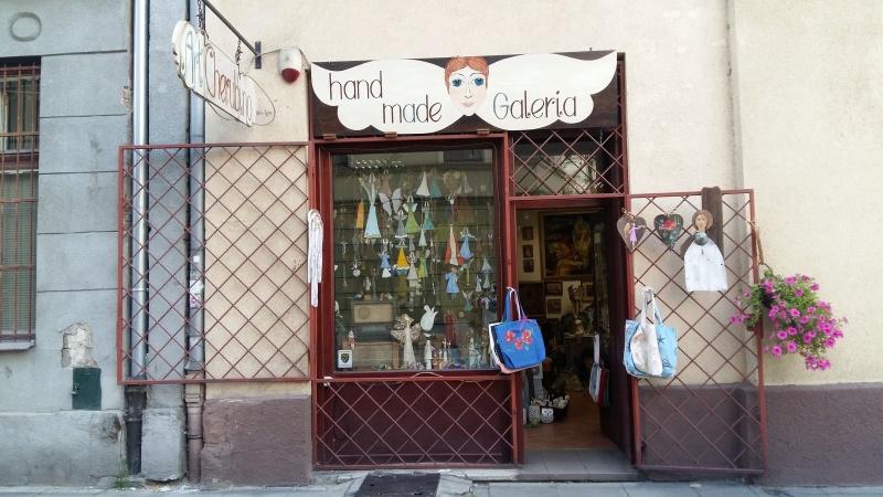 Entrance to ArtCherubino gallery