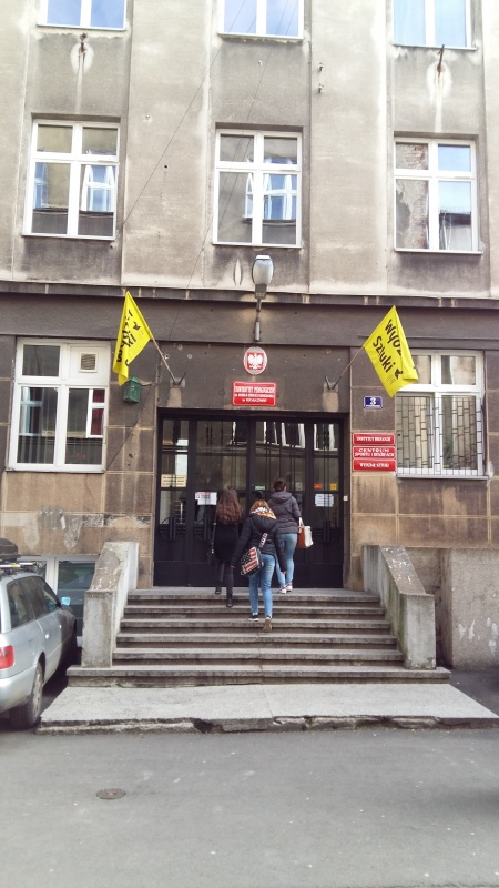 Entrance to the Faculty of Art, Pedagogical University
