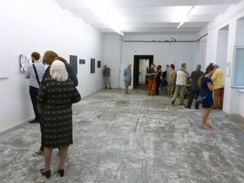 Wernisaż wystawy w galerii sztuki Otwarta Pracownia