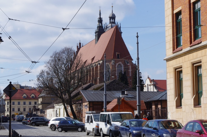 View of the Corpus Christi church