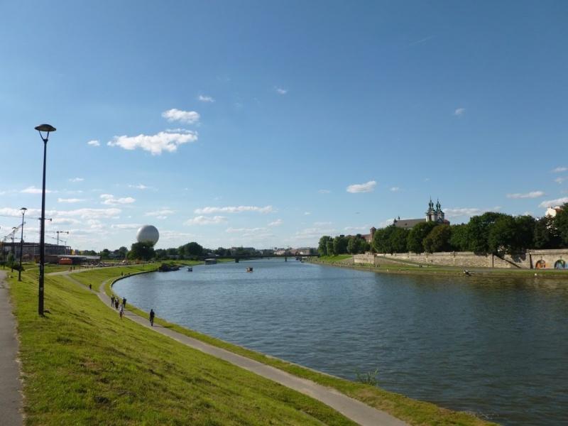 View of Skałka from nearby Forum hotel