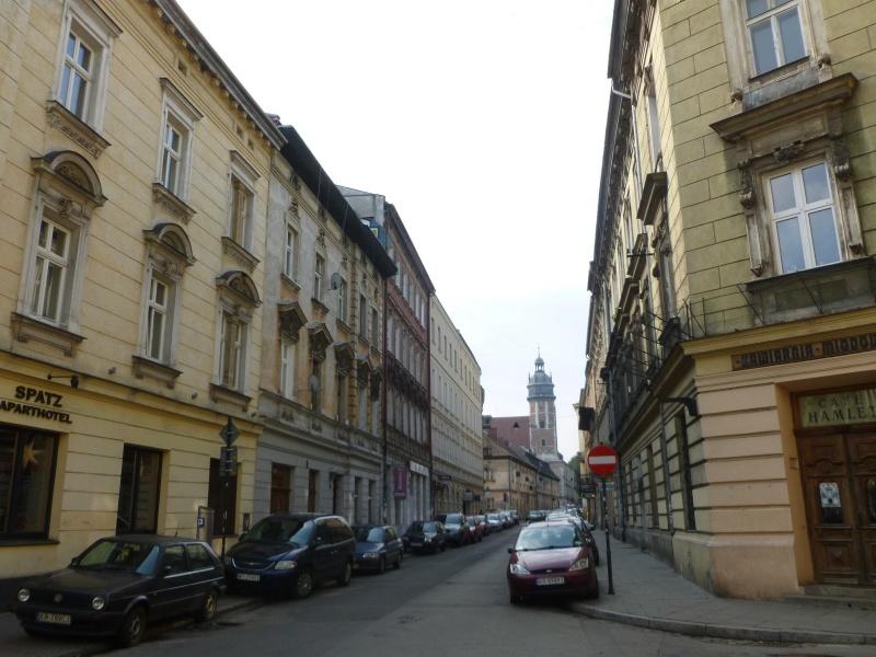 View of Bożego Ciała street towards the Corpus Christi church