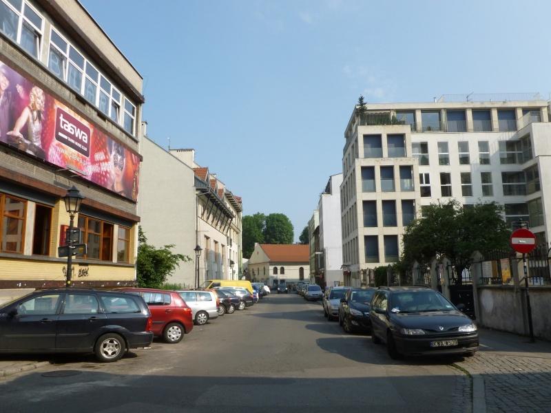 View of Kupa street towards Kupa synagogue