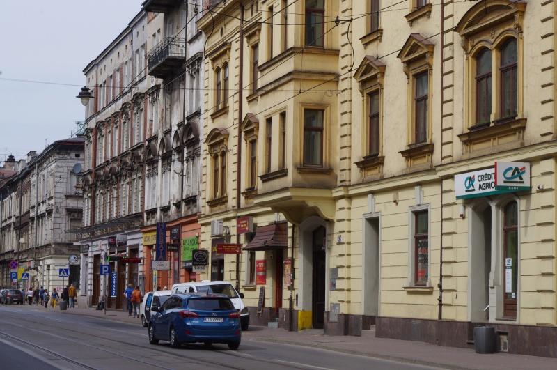 View of Starowiślna street