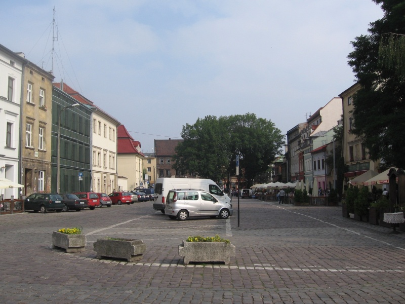 A view of Szeroka street from the Old Synagogue
