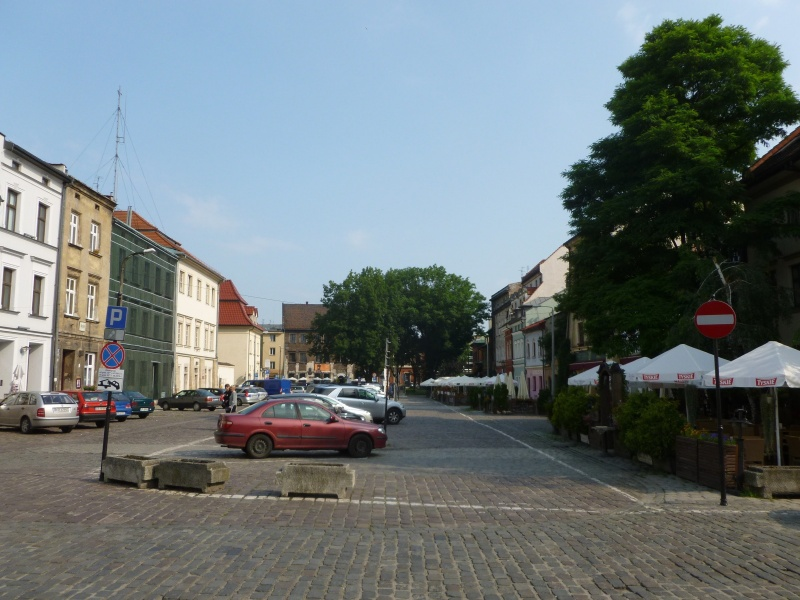 View of Szeroka street from near the Old Synagogue