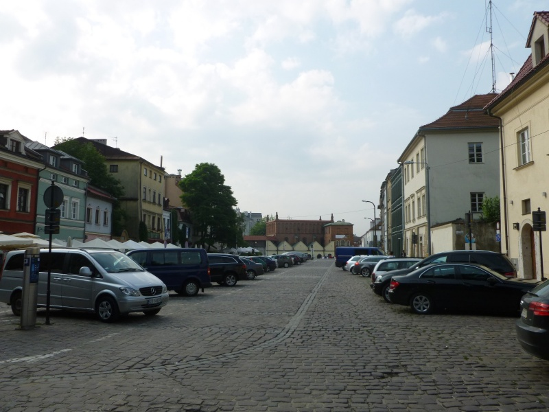 Widok na ulicę Szeroką w kierunku Starej Synagogi