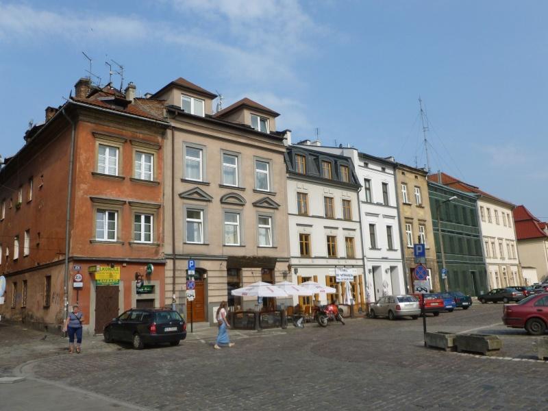 View of the western frontage of Szeroka street