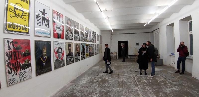 Wystawa w galerii sztuki Otwarta Pracownia w ramach Krakers Cracow Art Week 2019