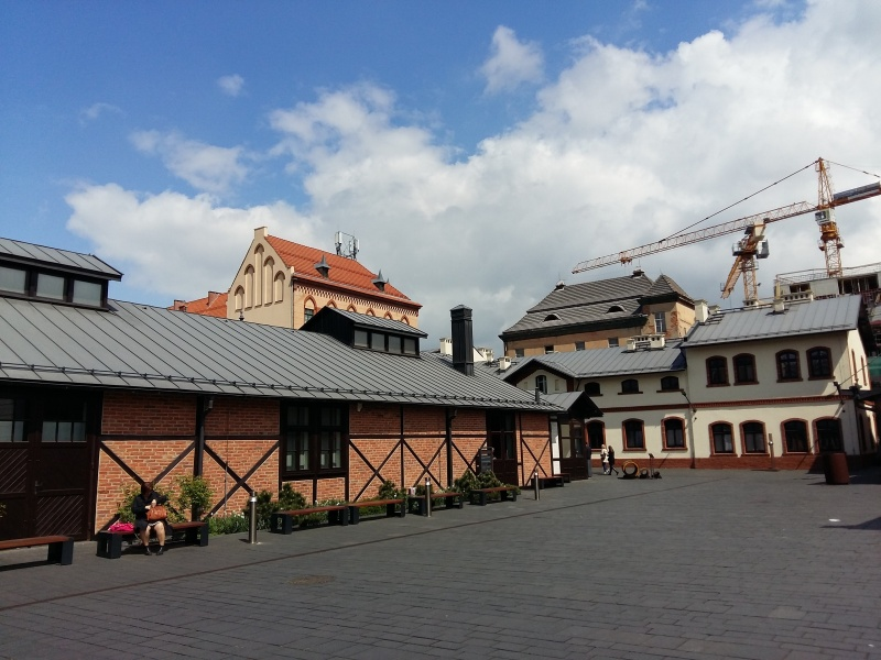 Historic buildings of the former tram depot (2)
