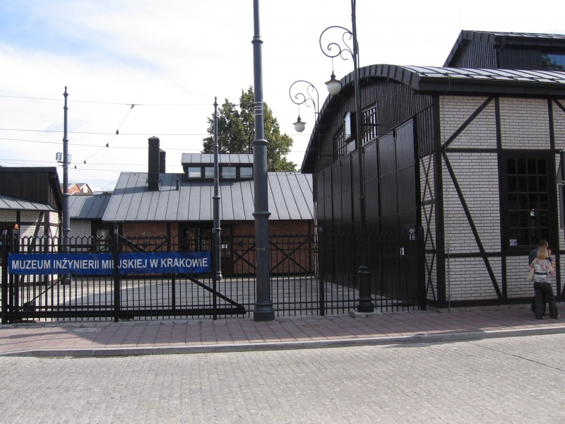 The former tram depot area, renovated historic tram halls in 2009